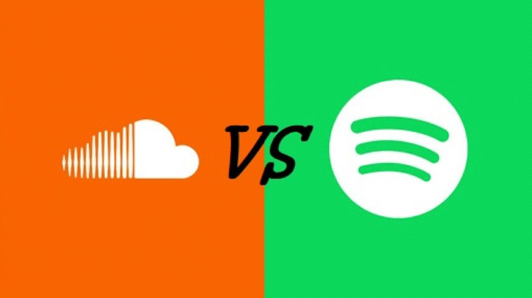 Is SoundCloud bigger than Spotify?